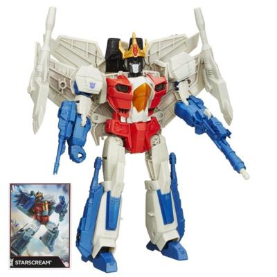 Transformers Generations - Figurine Starscream de classe Leader