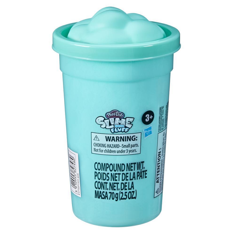 Play-Doh Slime Feathery Fluff, méga pot de pâte atoxique turquoise, pour enfants, dès 3ans