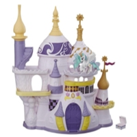 Jouet My Little Pony - Jeu Château de Canterlot avec figurine princesse Celestia et accessoire