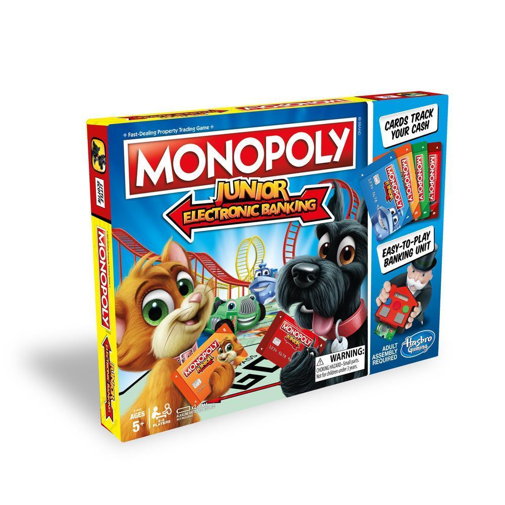 Jeu Monopoly Junior Banque électronique