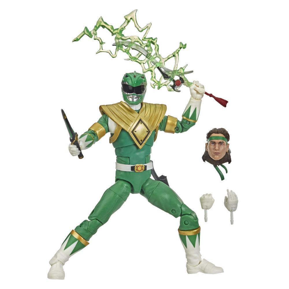Power Rangers Lightning Collection - Figurine Mighty Morphin Ranger vert