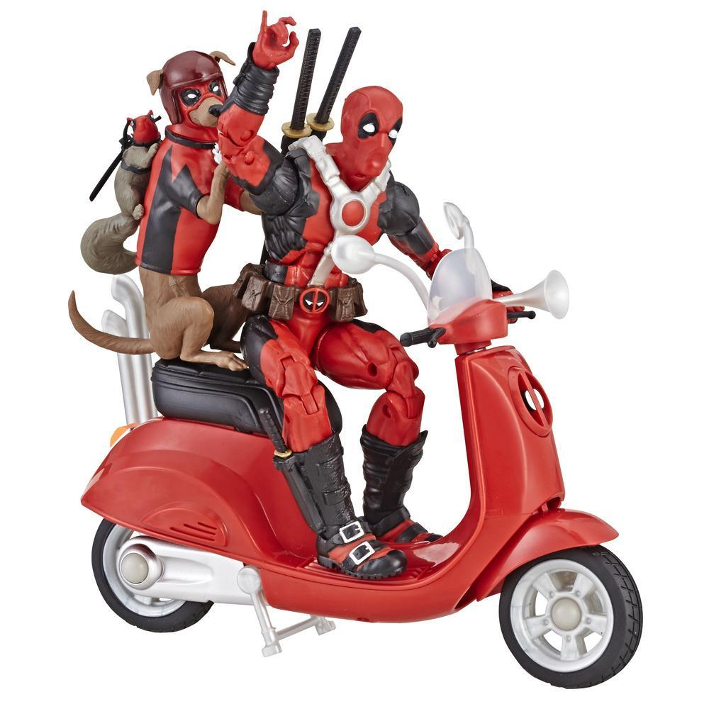 Série Marvel Legends - Figurine Deadpool de 15 cm avec Scooter