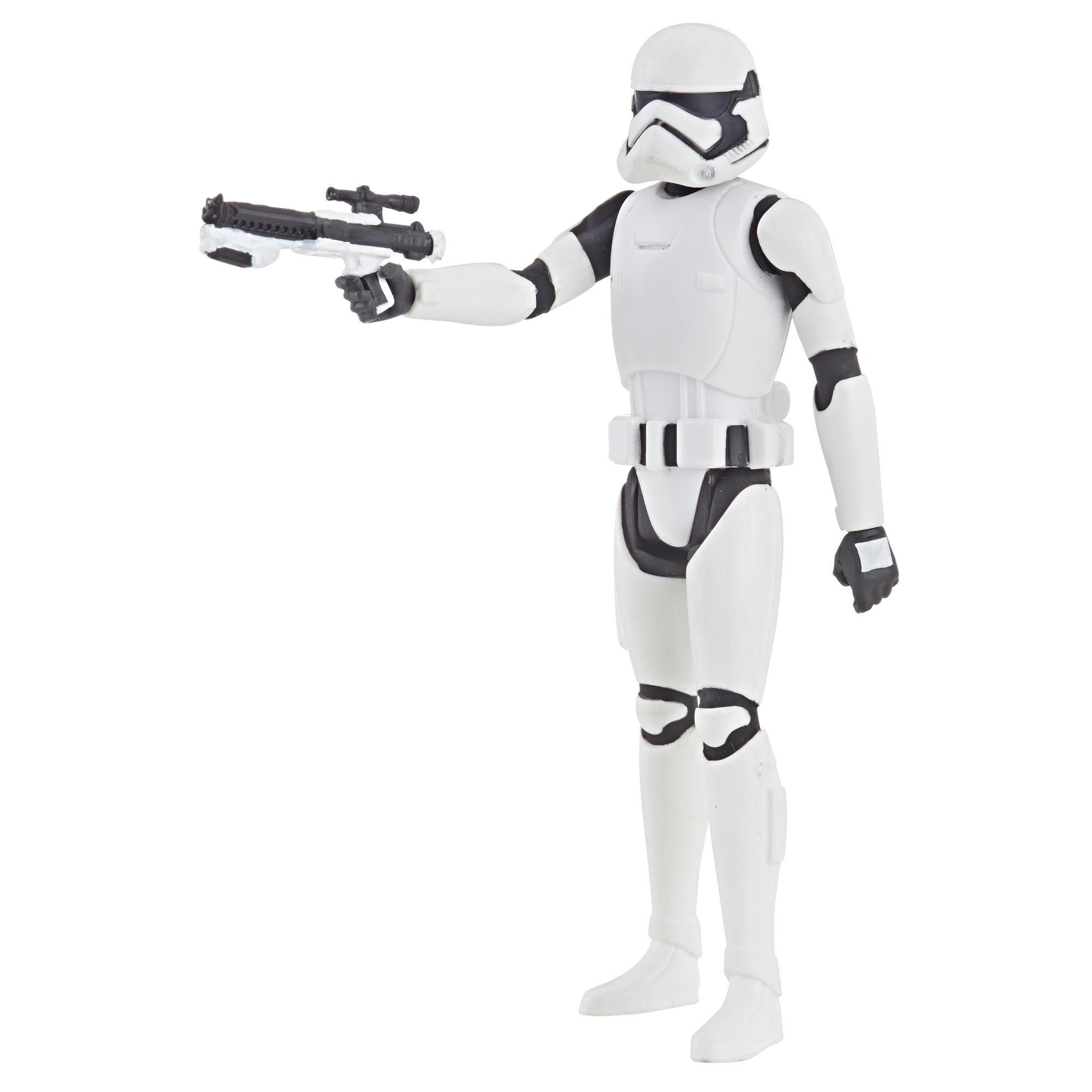 Star Wars Série animée Star Wars: Resistance - Figurine Stormtrooper du Premier Ordre de 9,5 cm