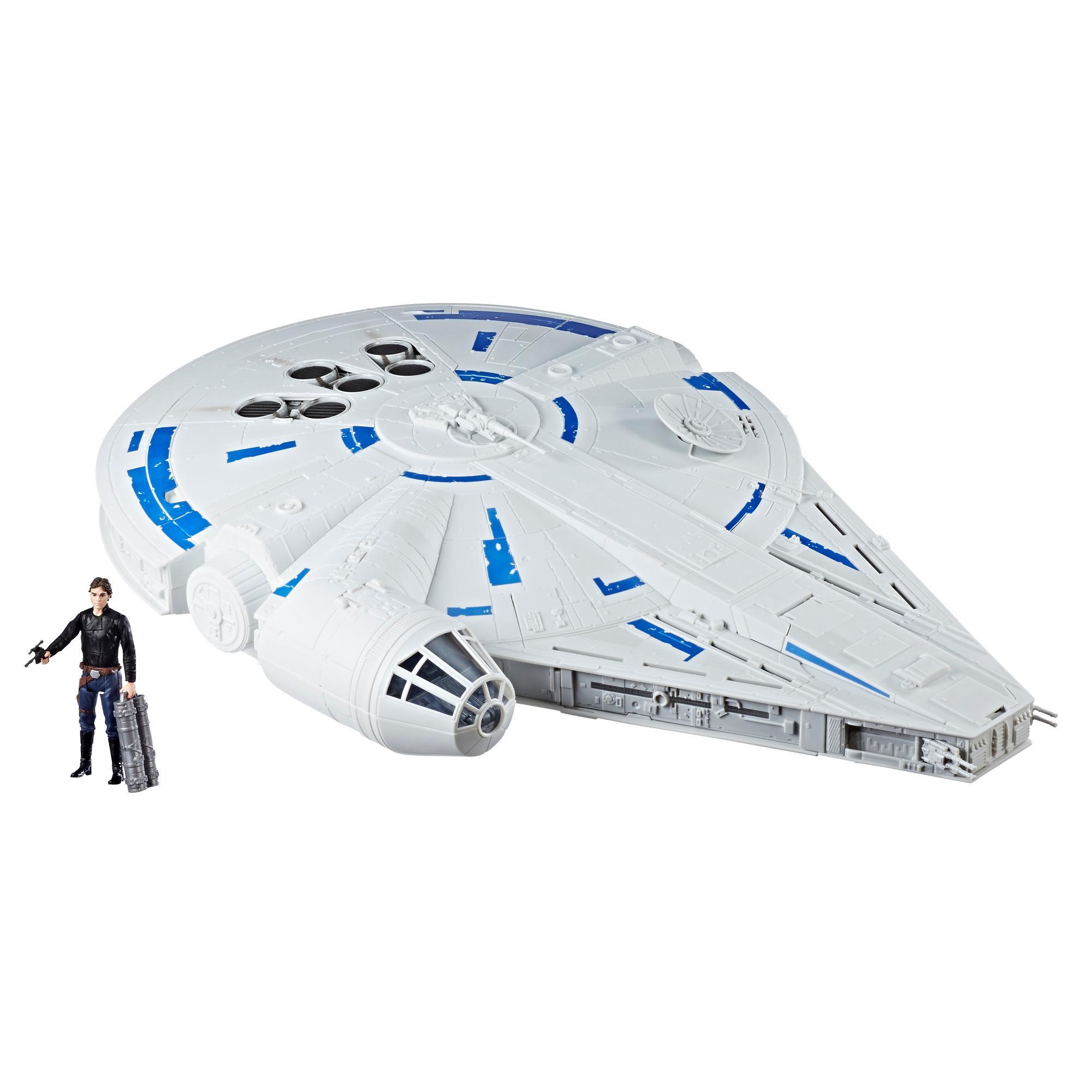 Star Wars Force Link 2.0 - Faucon Millenium avec figurine Han Solo