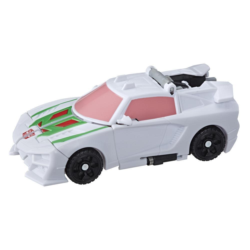 Transformers Bumblebee Cyberverse, figurine Wheeljack Action Attackers conversion 1 étape, attaque Gravity Cannon