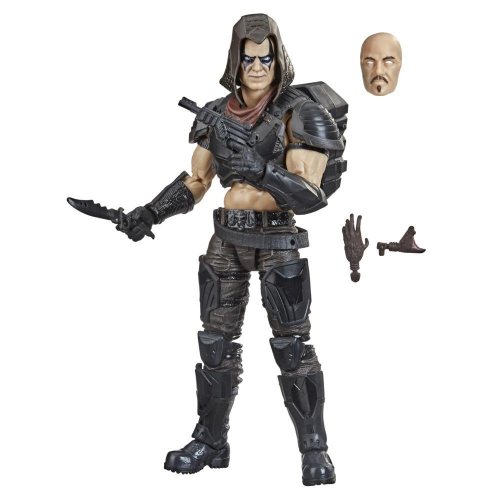 G.I. Joe Classified Series - Figurine articulée Zartan