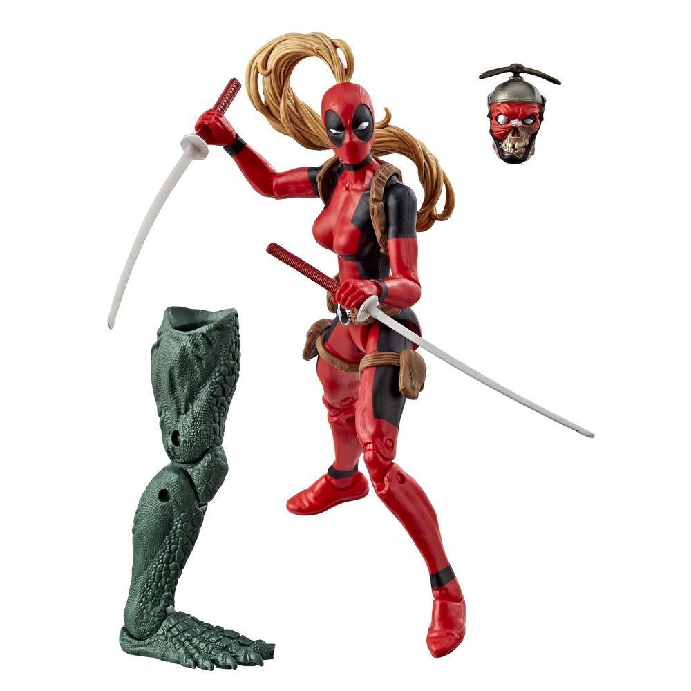 Série Marvel Legends - Figurine Lady Deadpool de 15 cm