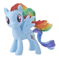 My Little Pony - Poney classique du personnage principal Rainbow Dash