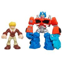 PLAYSKOOL HEROES TRANSFORMERS RESCUE BOTS - Assortiment de duos de figurines Minicon