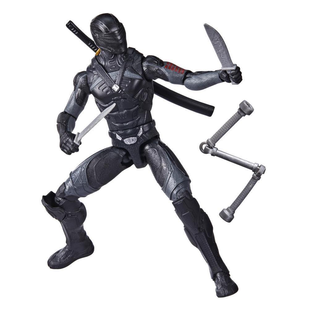 Snake Eyes: G.I. Joe Origins, figurine Snake Eyes avec mouvement d'attaque et accessoires, pour enfants dès 4 ans
