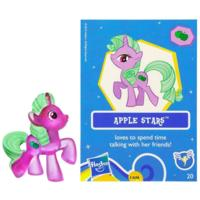MY LITTLE PONY - Figurine scintillante - Pouliche mystère
