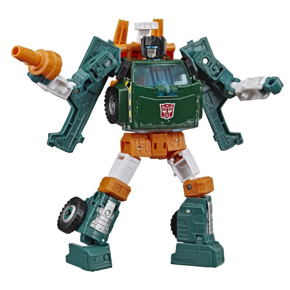 Transformers Generations War for Cybertron : Earthrise, figurine WFC-E5 Hoist Deluxe, 14 cm