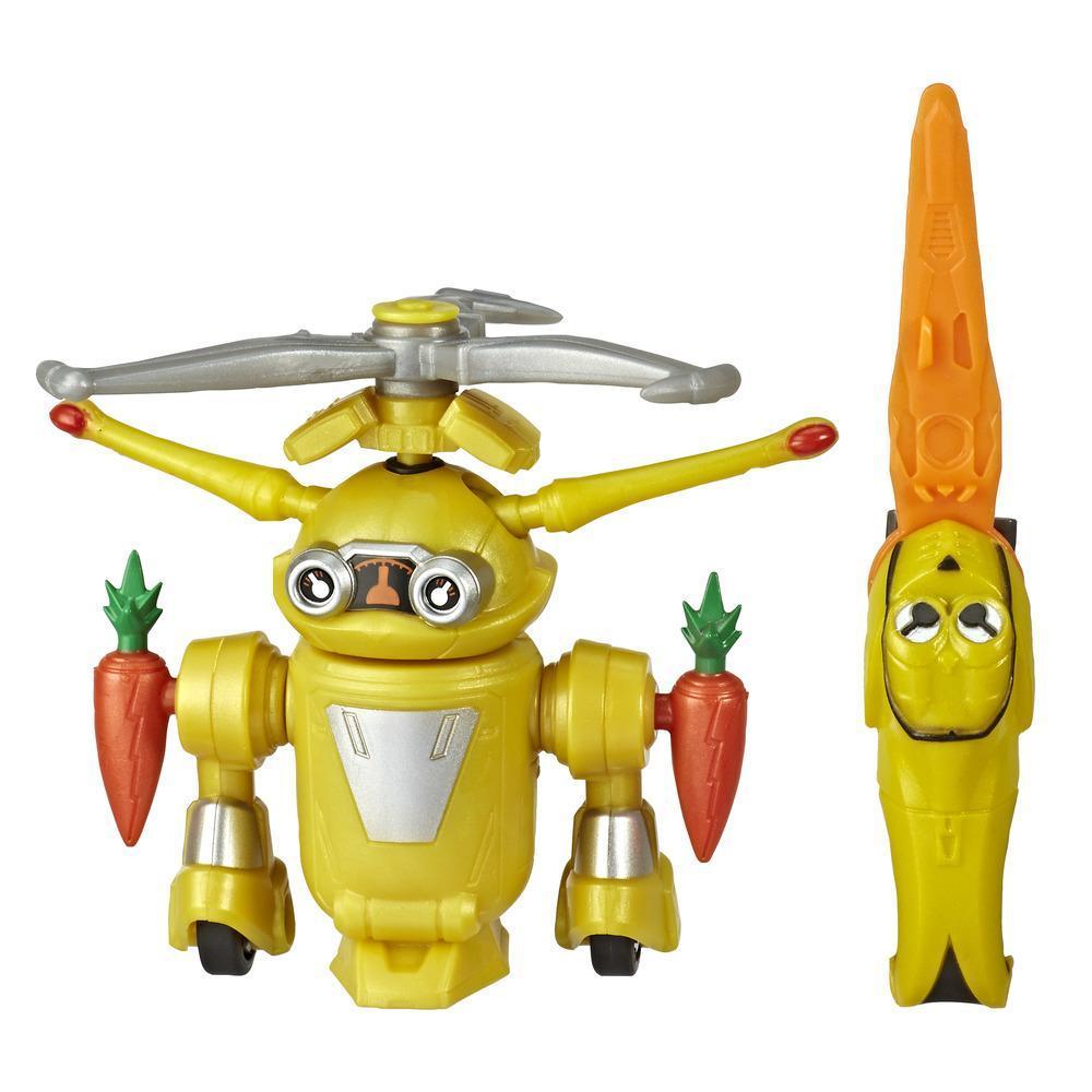 Power Rangers Beast Morphers, figurine de 15 cm Jax Beastbot inspirée de la série télé Power Rangers