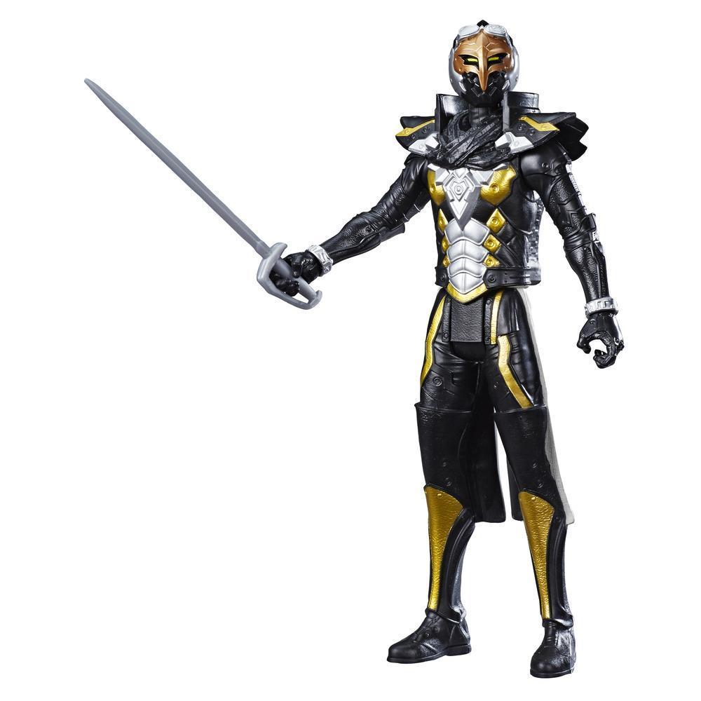 Power Rangers Beast Morphers - Figurine jouet de 30 cm du cybervilain Robo-Blaze, inspirée de la série télé Power Rangers