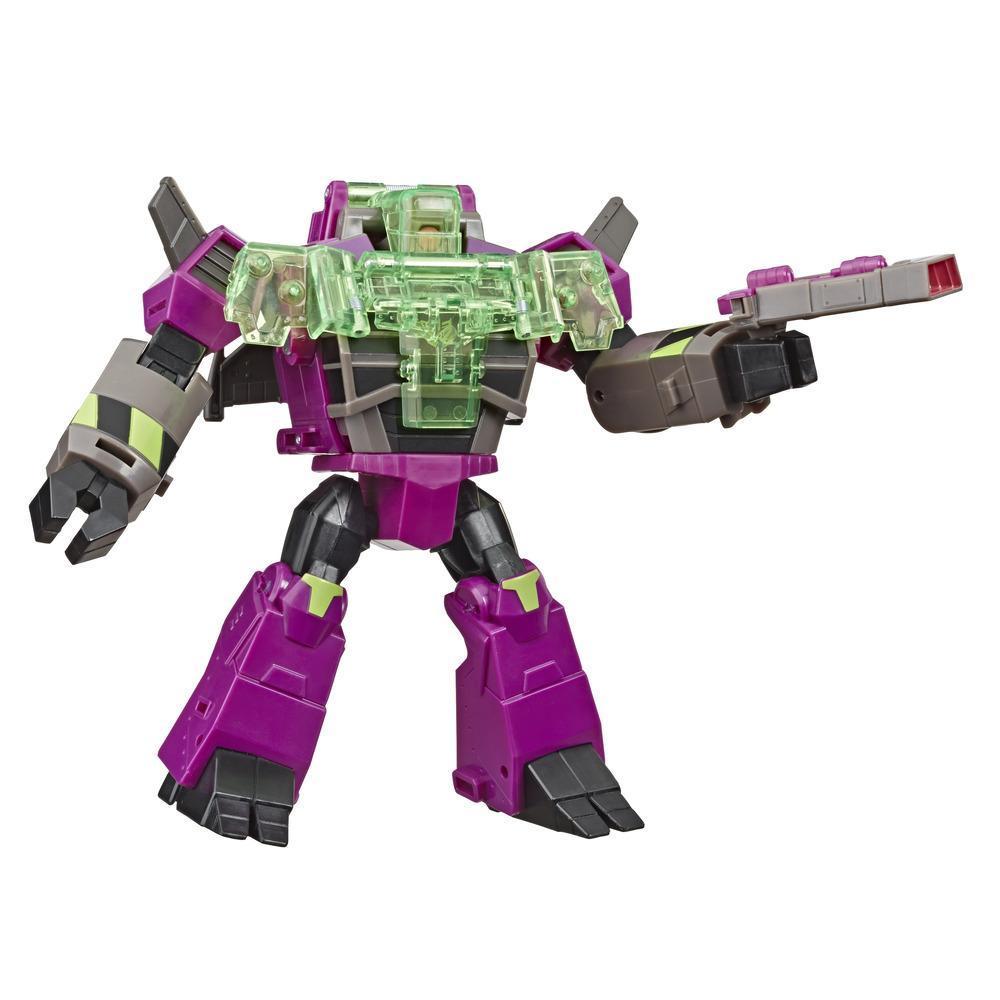 Jouets Transformers Cyberverse, figurine Clobber d'une taille de 17 cm, classe ultra, se combine à l'armure Energon pour gagner en surpuissance, pour enfants, à partir de 6 ans