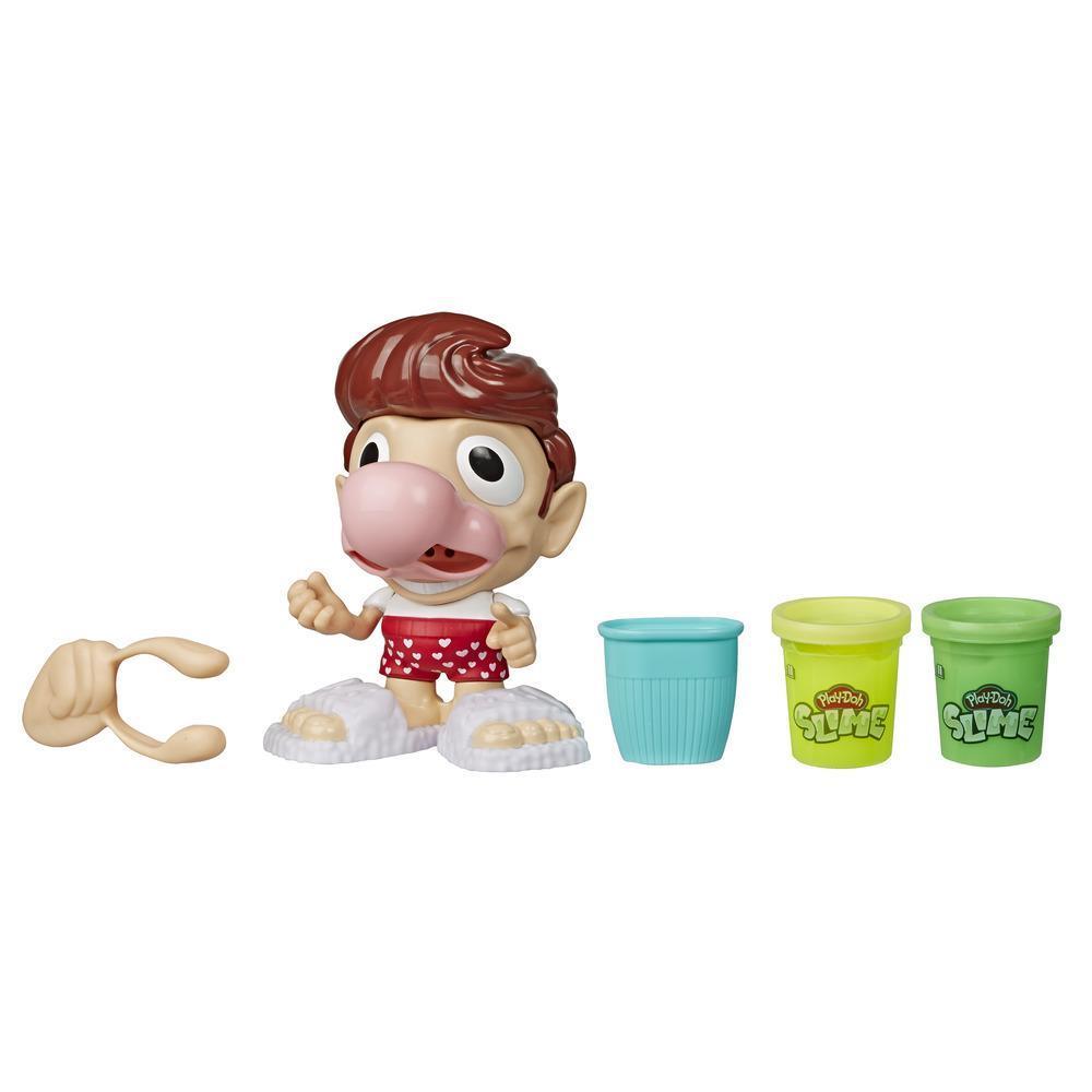 Play-Doh Slime - Scotty, jeu avec 2 pots de morve gluante