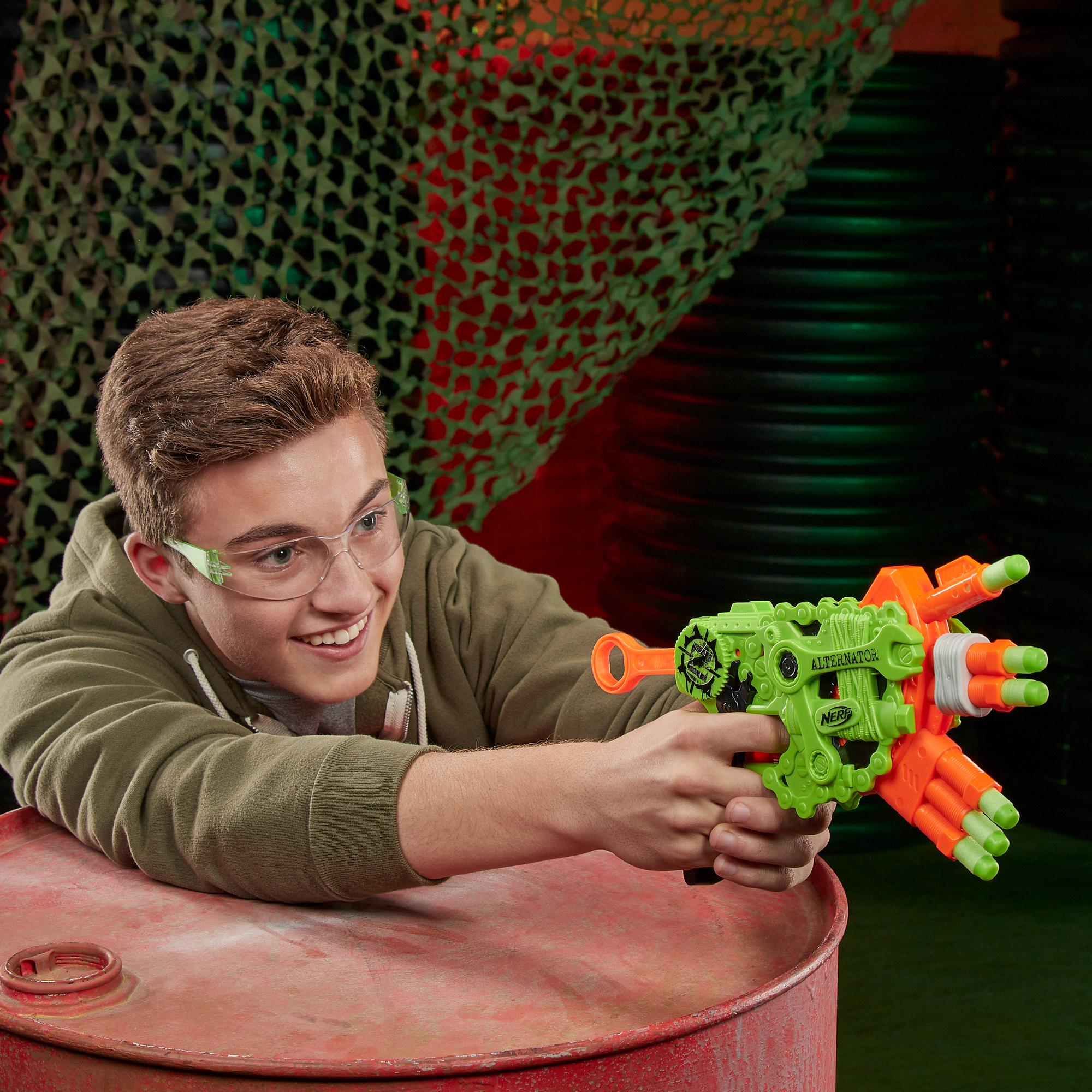 Blaster Nerf Zombie Strike Alternator