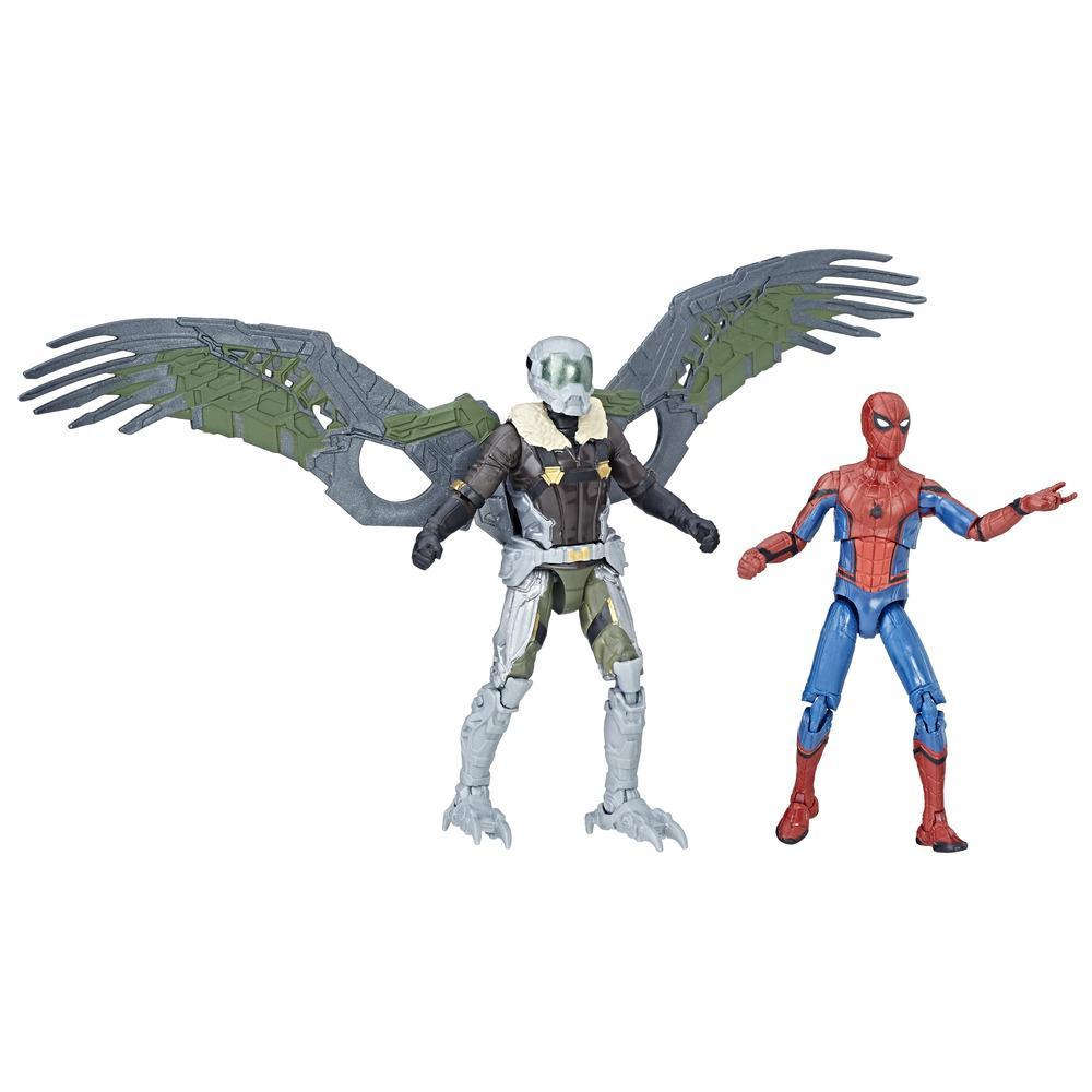 Marvel Legends Spider-Man - Duo de figurines Spider-Man & Marvel's Vulture