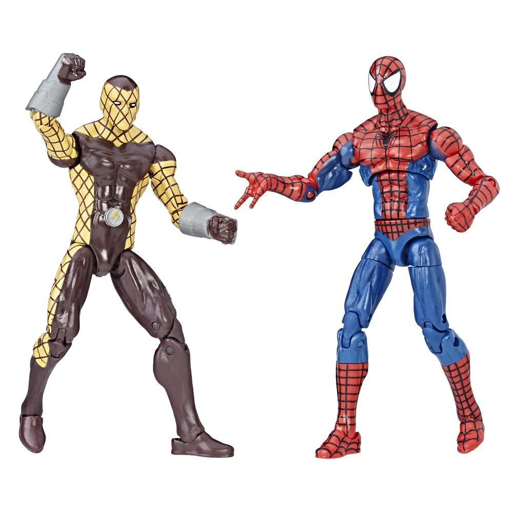 Marvel Legends Spider-Man - Duo de figurines Spider-Man & Marvel's Shocker