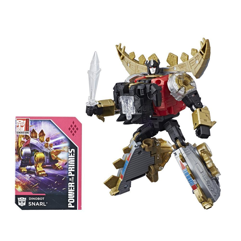 Transformers: Generations - Power of the Primes - Dinobot Snarl de classe de luxe
