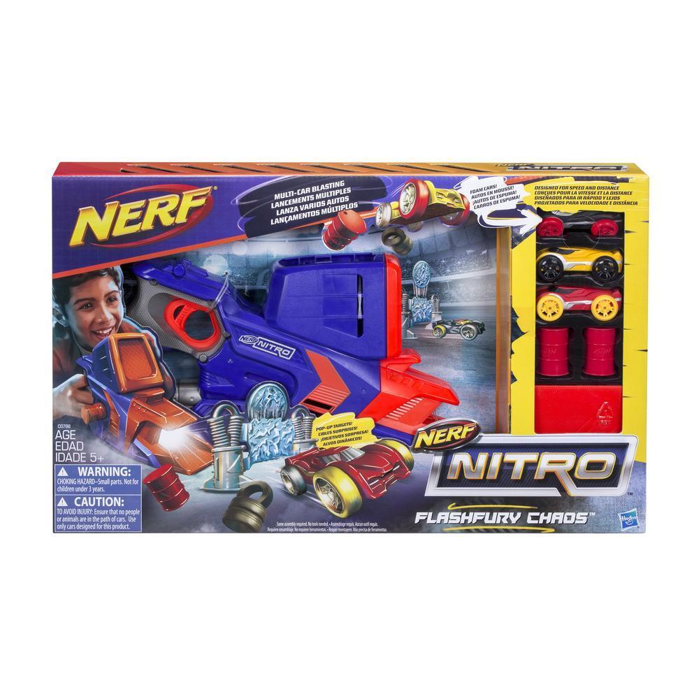 Nerf Nitro - Jeu FlashFury Chaos