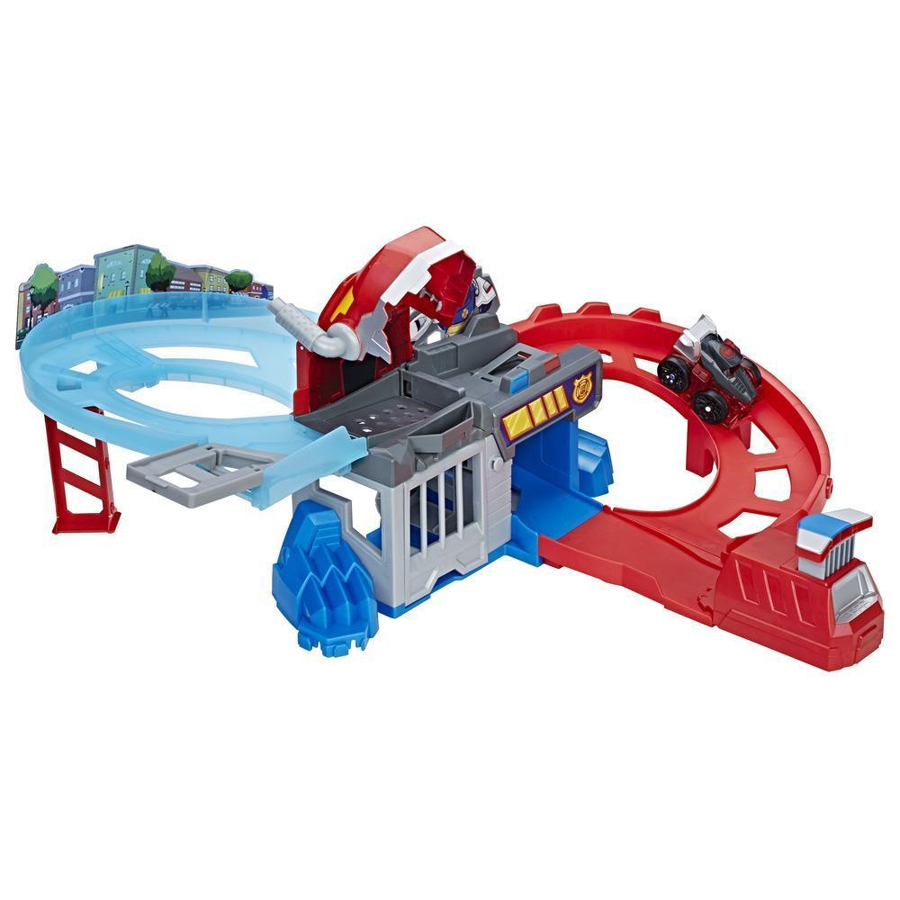 Playskool Heroes Transformers Rescue Bots Flip racers – Piste poursuite mordante