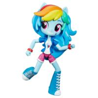 My Little Pony Equestria Girls - Mini poupée Rainbow Dash