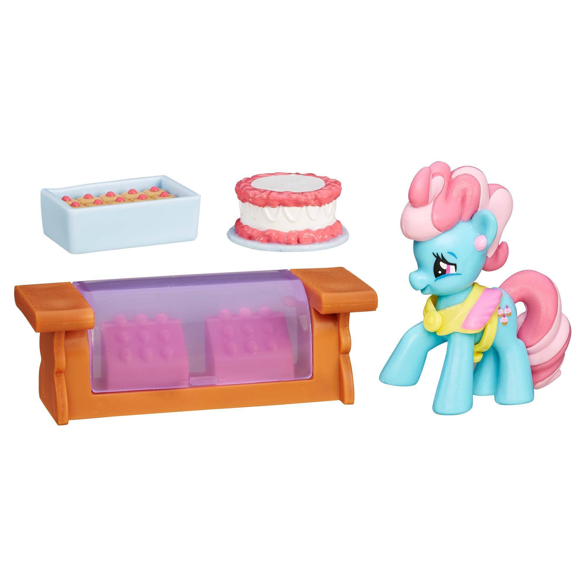 My Little Pony Collection La magie de l'amitié - Figurine Mme Dazzle Cake
