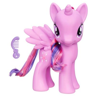 My Little Pony La magie de l'amitié - Figurine Princesse Twilight Sparkle de 20 cm
