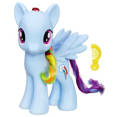 My Little Pony La magie de l'amitié - Figurine Rainbow Dash de 20 cm