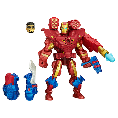 Marvel Super Hero Mashers - Figurine Iron Man électronique