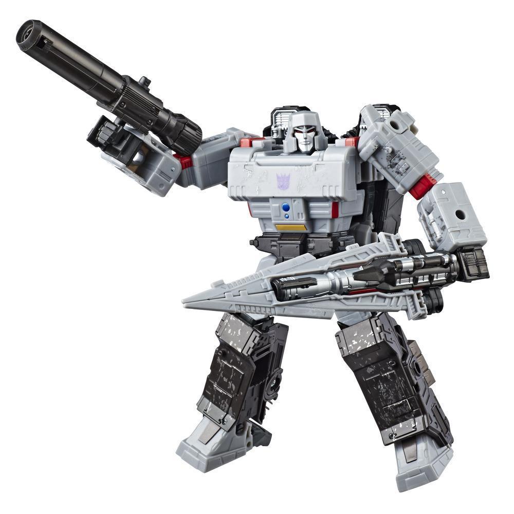 Transformers Generations War for Cybertron: Siege - Figurine Megatron WFC-S12 de classe voyageur