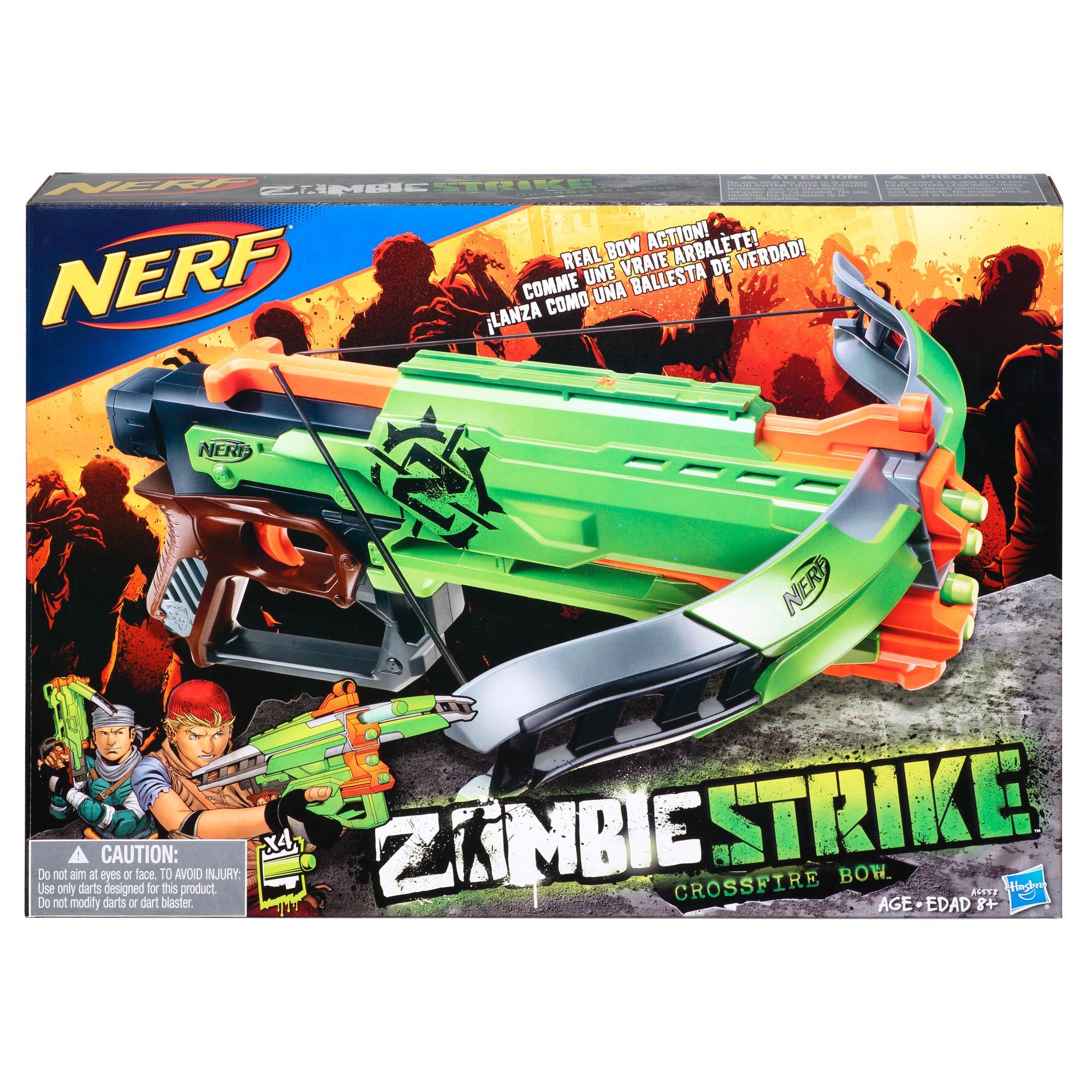 Nerf Zombie Strike - Arbalète Crossfire Bow