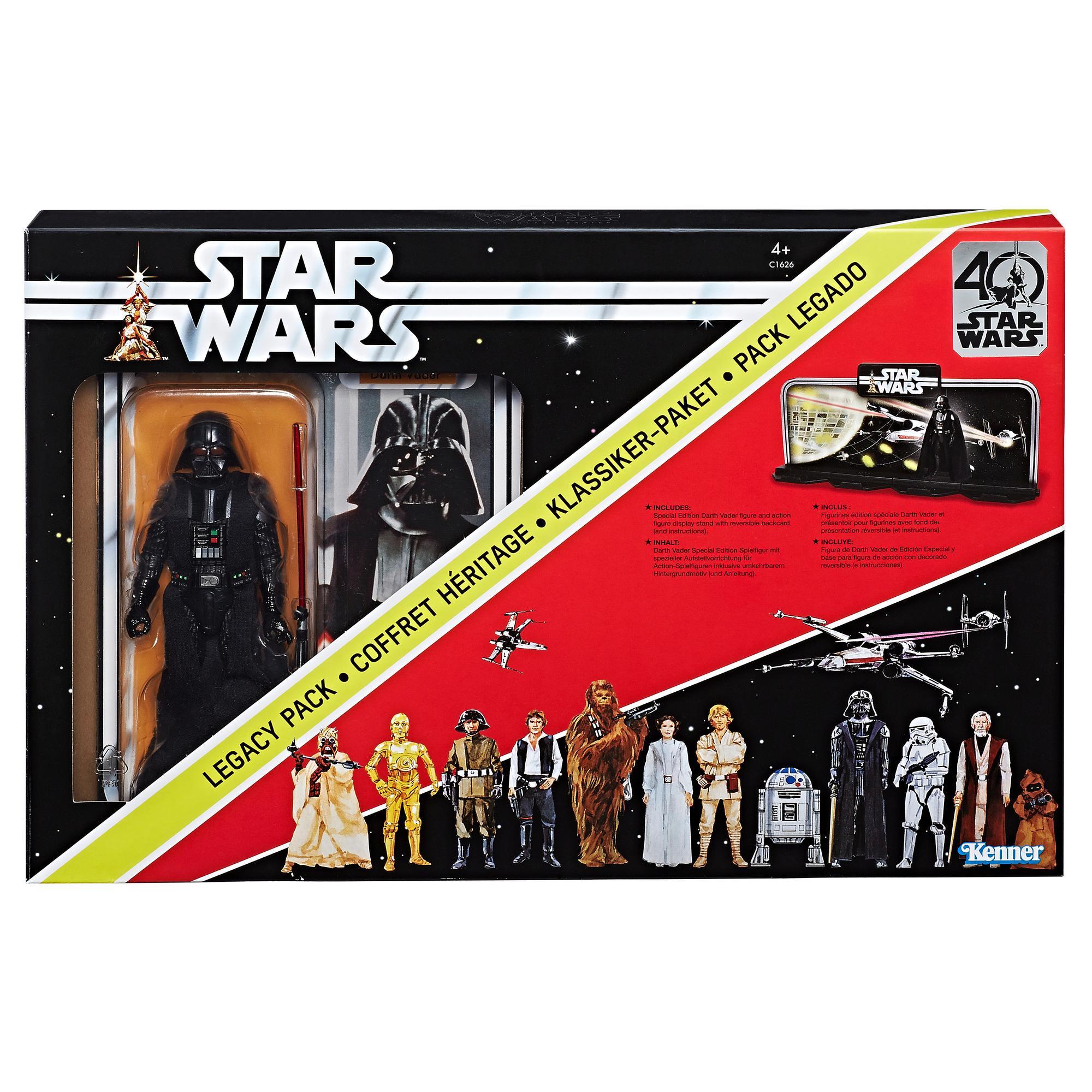 Star Wars The Black Series - Ensemble Héritage 40e Anniversaire