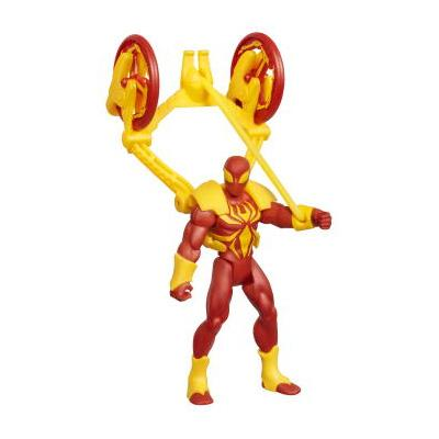 MARVEL ULTIMATE SPIDER-MAN - Assortiment de figurines Power Webs de 9,5 cm