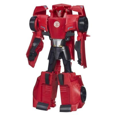 Transformers Robots in Disguise - Figurine Sideswipe Conversion 3 étapes
