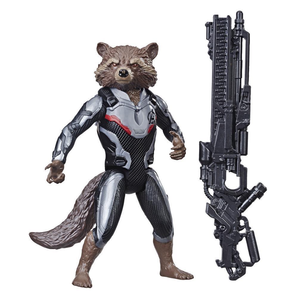 Marvel Avengers: Endgame Titan Hero Series - Figurine Rocket Raccoon de 30 cm avec port Titan Hero Power FX