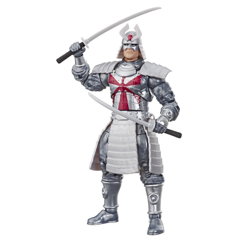 Collection Marvel Retro - Figurine Silver Samurai X-Men de 15 cm, pour enfants à partir de 4 ans et collectionneurs