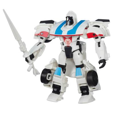 Transformers Robots in Disguise - Figurine Autobot Jazz de classe Guerriers