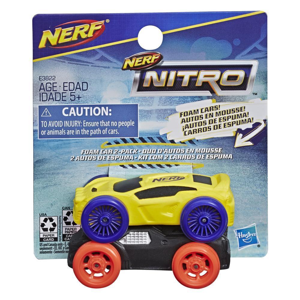 Nerf Nitro – Ensemble de 2 autos en mousse (version 1)
