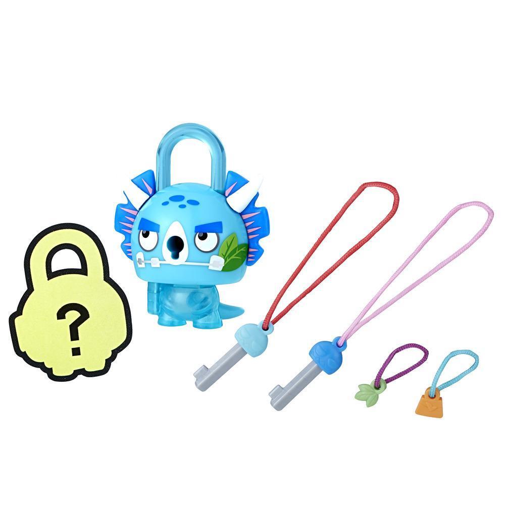 Lock Stars Assortiment de base – Dino bleu Série 2 (Le produit peut varier)