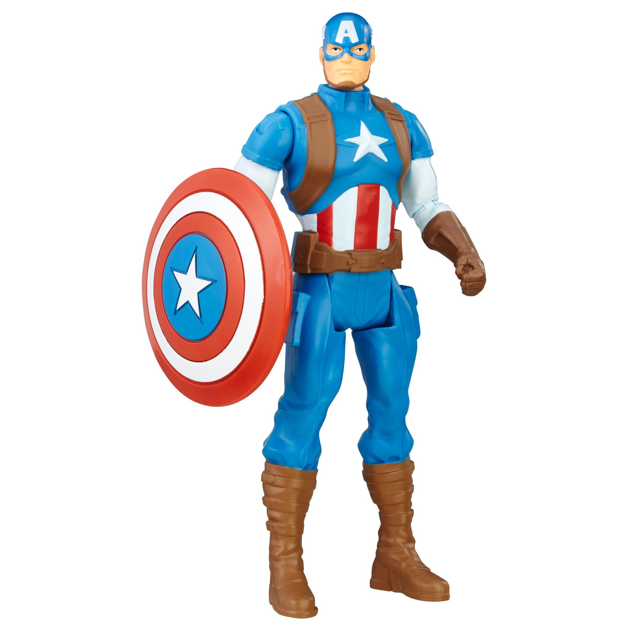 Marvel Avengers - Figurine de base Captain America de 15 cm