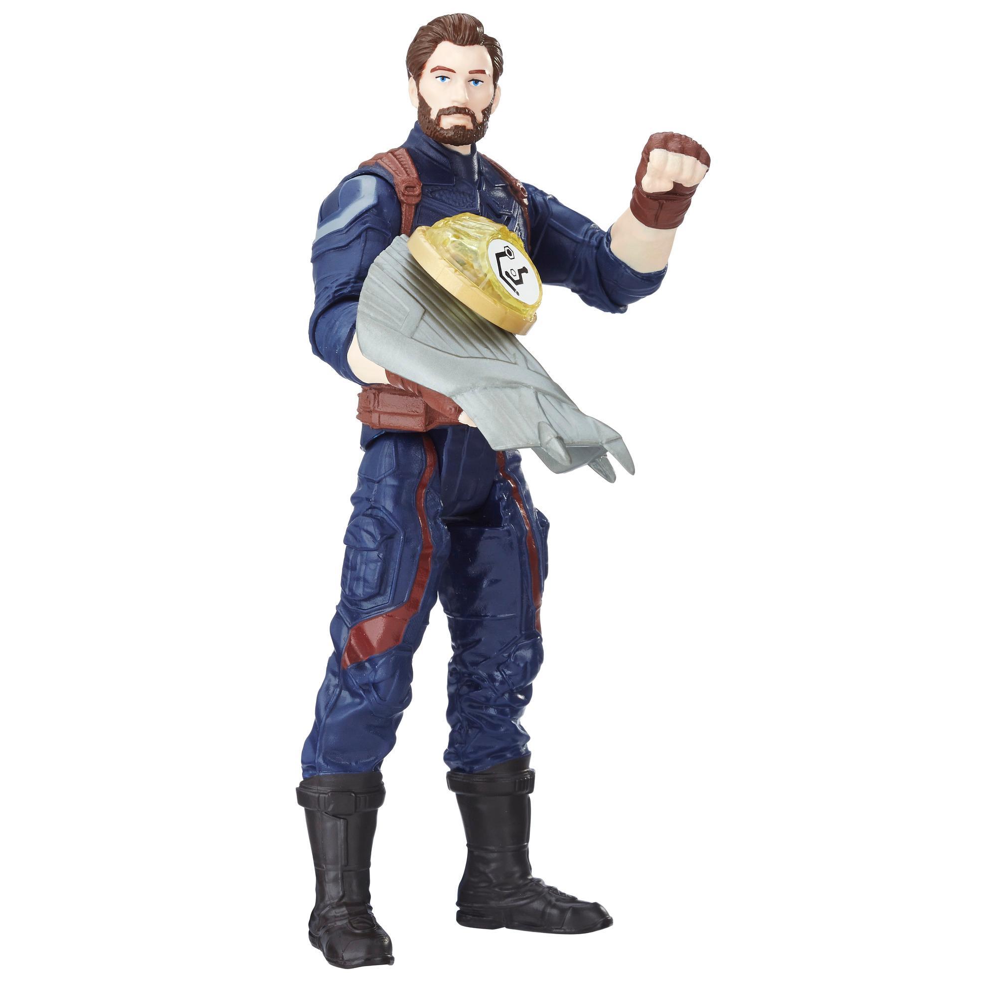 Marvel Avengers: La guerre de l'Infini - Captain America avec Pierre d'infinité