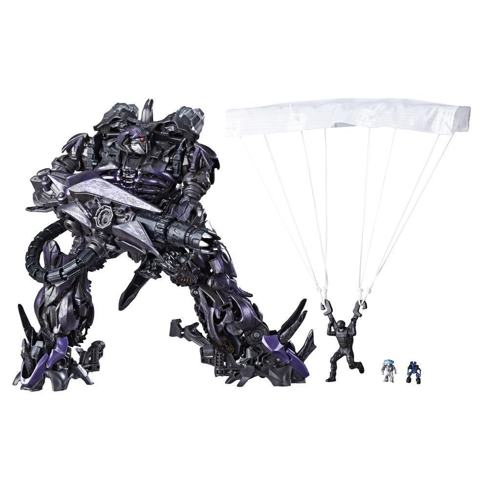 Jouet Transformers Studio Series 56, figurine Shockwave de classe leader du film Transformers : La face cachée de la lune, taille de 21,5 cm
