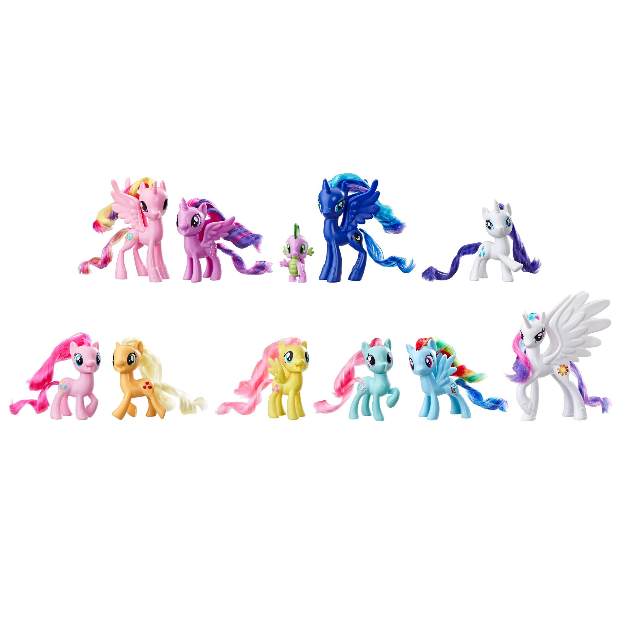 Jouet My Little Pony, Collection de 11 figurines Amis d'Equestria