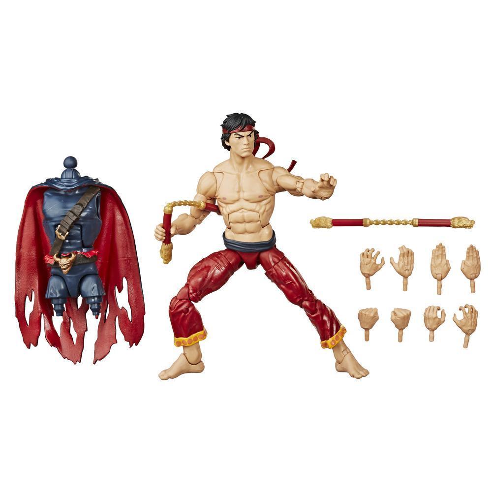 Hasbro Marvel Legends Series, figurine articulée Shang Chi de 15 cm à collectionner avec pièce Build-A-Figure