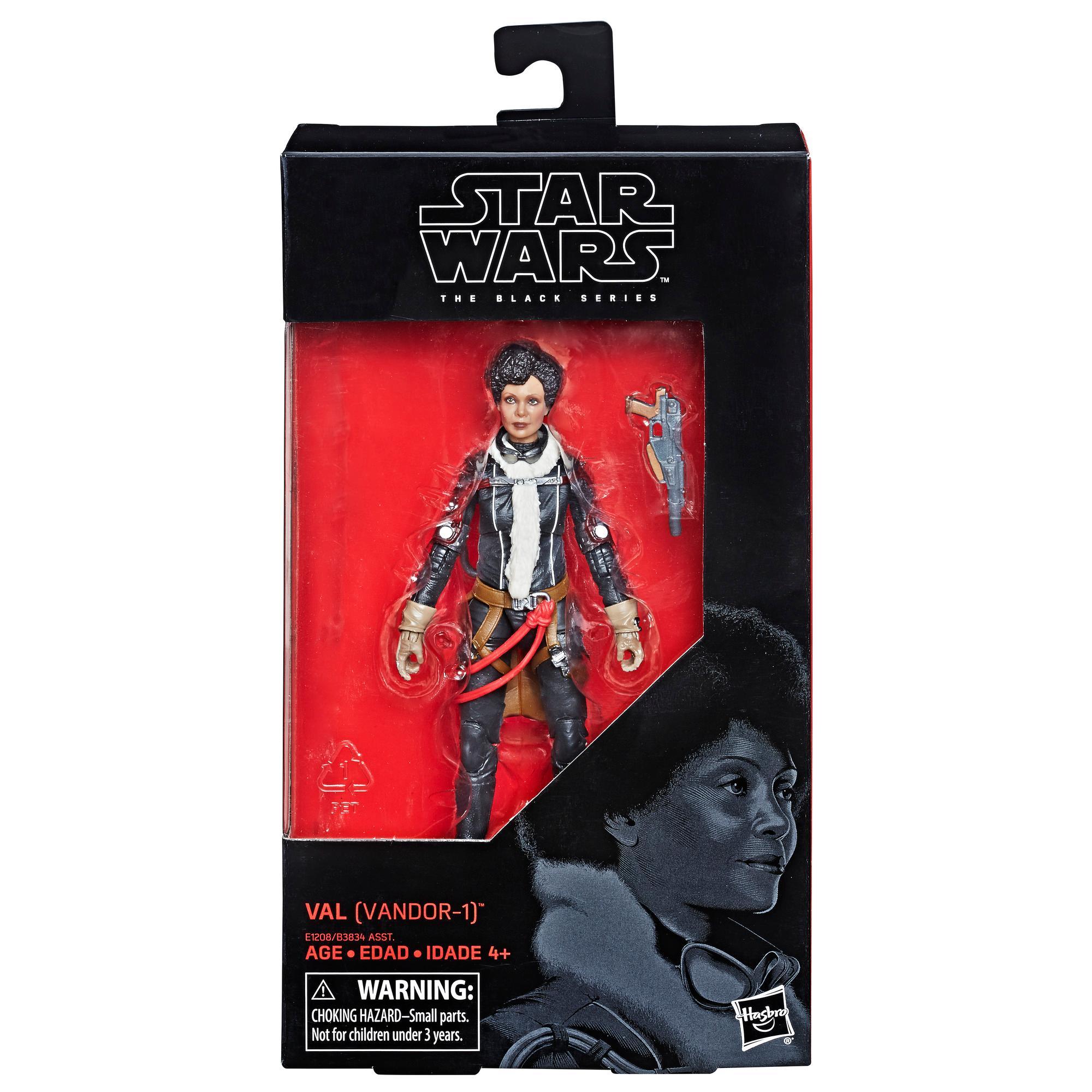 Star Wars Série noire - Figurine Val (Mimban) de 15 cm