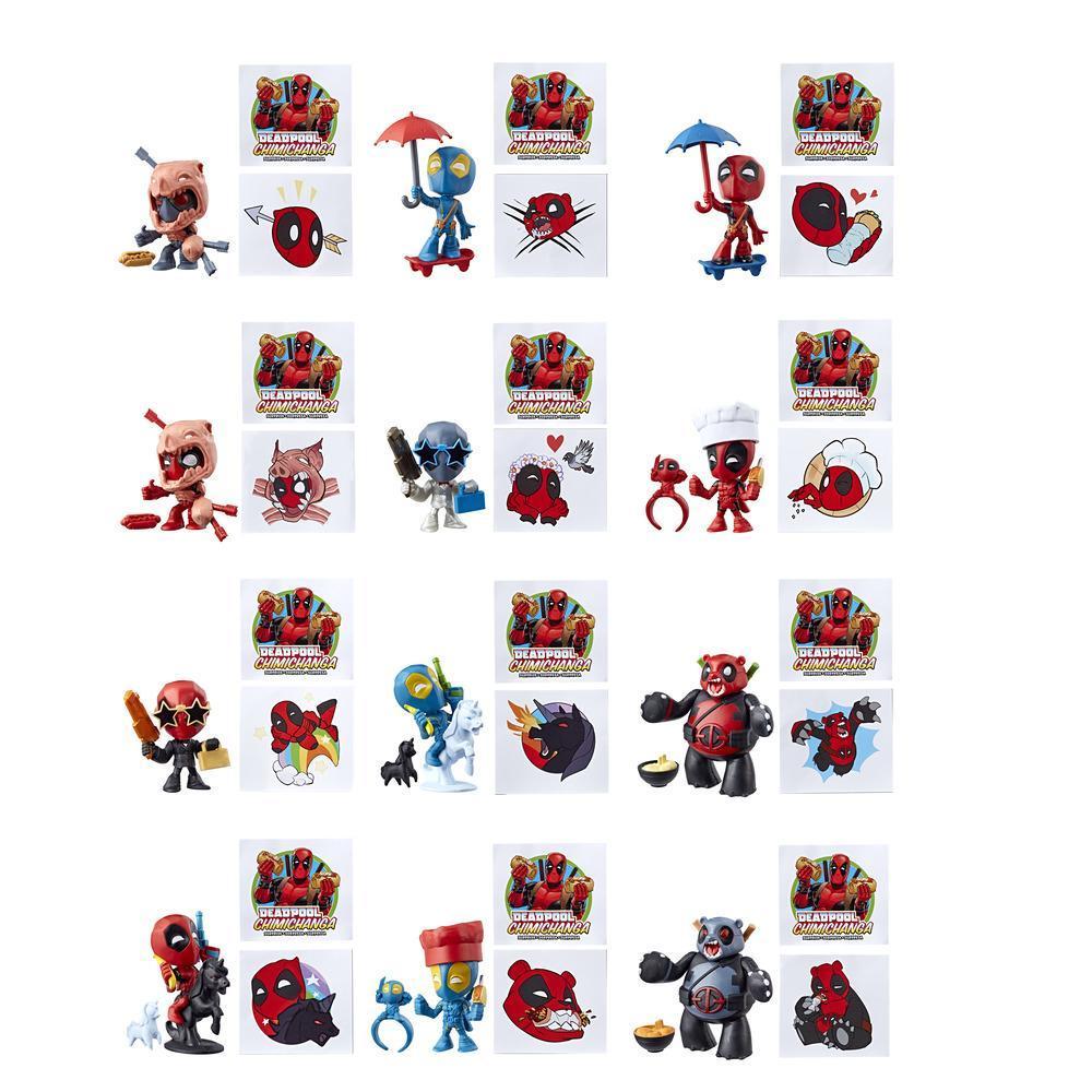 Marvel Deadpool - Chimichanga surprise avec garniture mystère (Commande 1)