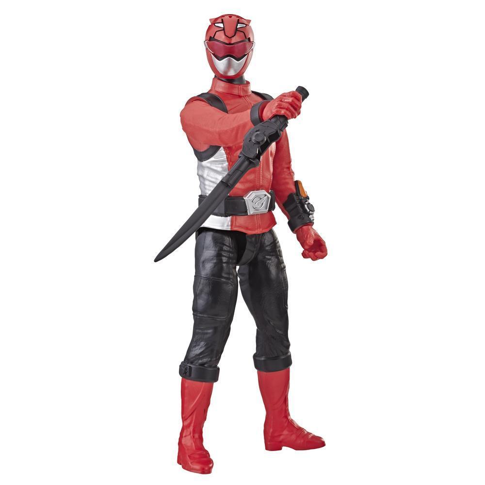 Power Rangers Beast Morphers - Figurine jouet de 30 cm Ranger rouge