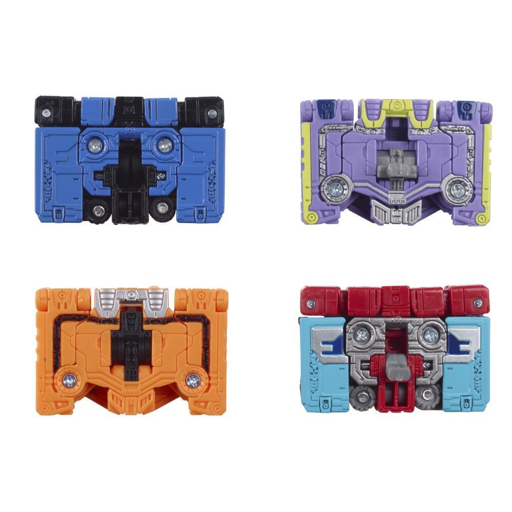 Transformers Sélection Générations War for Cybertron Micromaster, Patrouille 4 espions Soundwave WFC-GS10, 3,5 cm